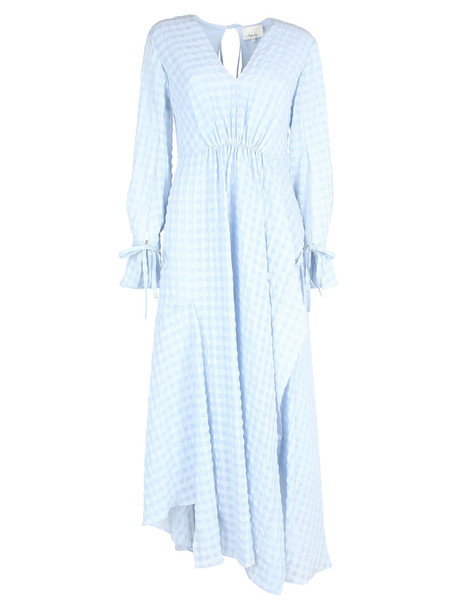 3.1 Phillip Lim Phillip Lim Asymmetric Dress in blue