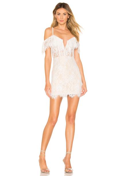 NBD x Naven Allie Dress in white