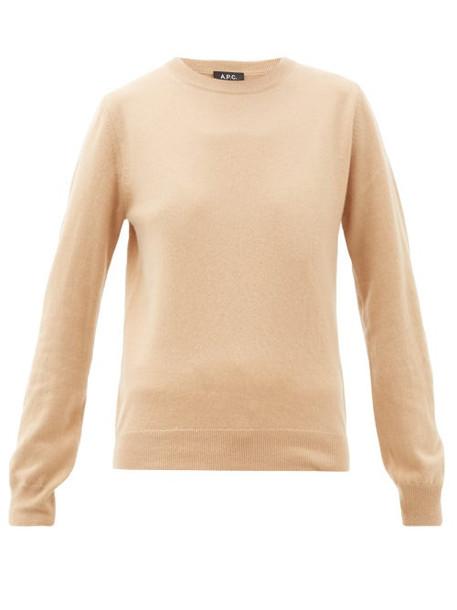 A.P.C. A.p.c. - Nola Cashmere Sweater - Womens - Beige