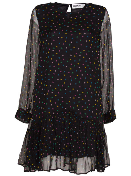 Essentiel Antwerp Black Polka Dot Dress