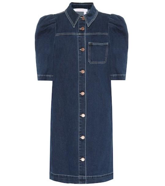 See By Chloé Denim dress in blue