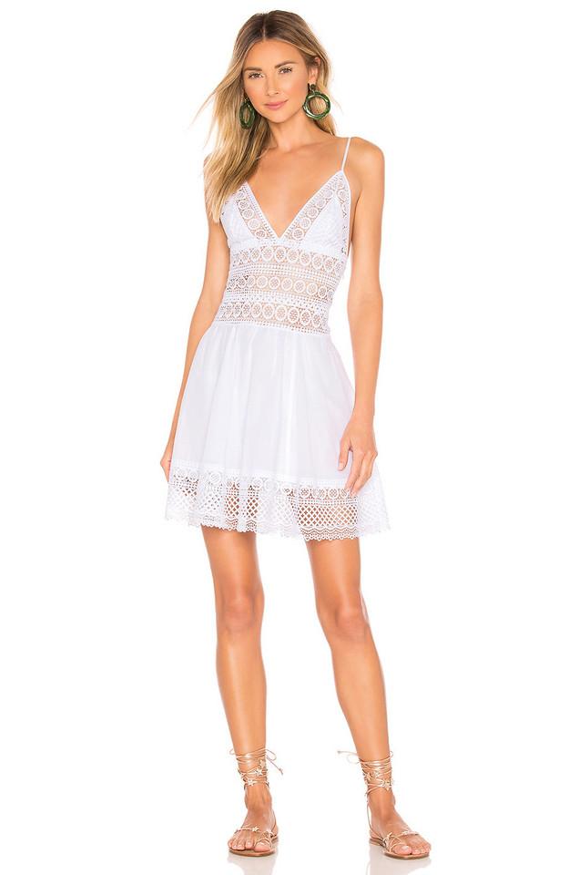 Charo Ruiz Ibiza Didi Dress in white