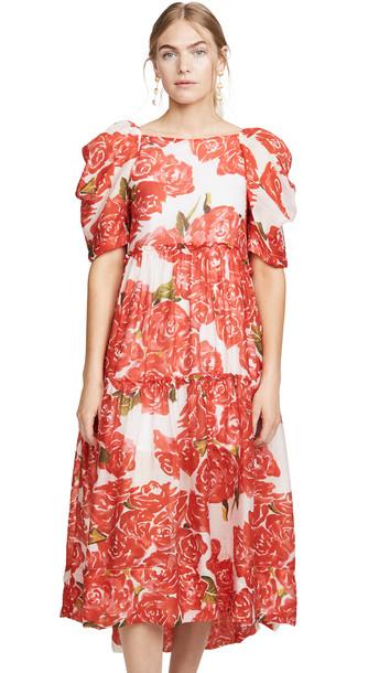 Rhode Aurora Dress in rose