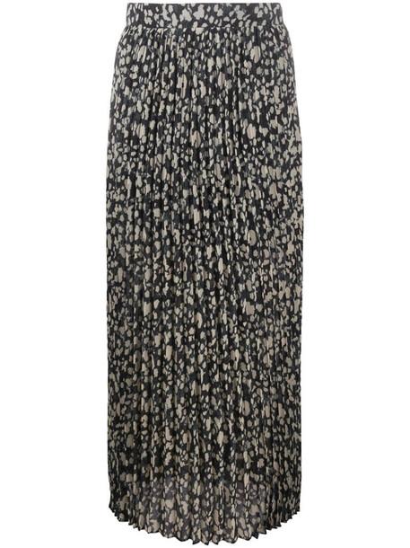 Ba&Sh pleated Lamba skirt in neutrals
