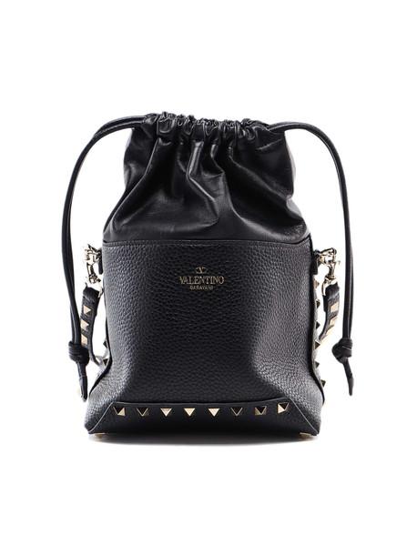 Valentino Garavani Mini Bucket Bag in nero
