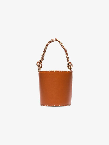 Ulla Johnson Brown Nia bucket bag