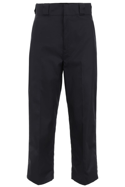 Prada Nylon Trousers in nero