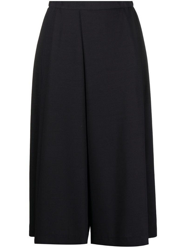 Stephan Schneider wide-leg cropped trousers in blue