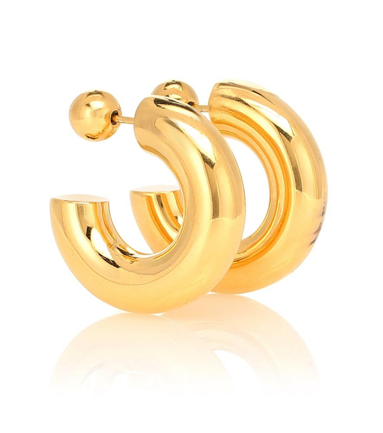 Sophie Buhai Donut Hoops Small 18kt gold-plated earrings