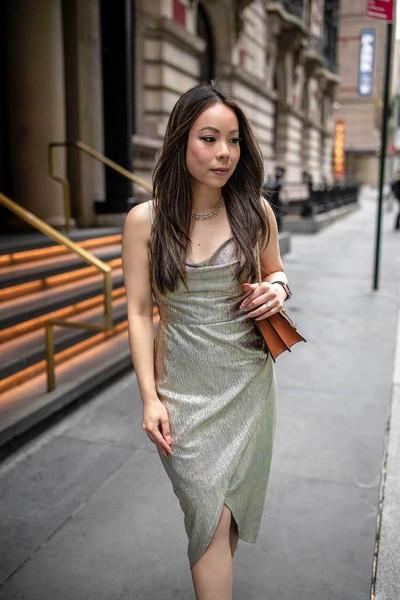 hautepinkpretty blogger dress jewels shoes