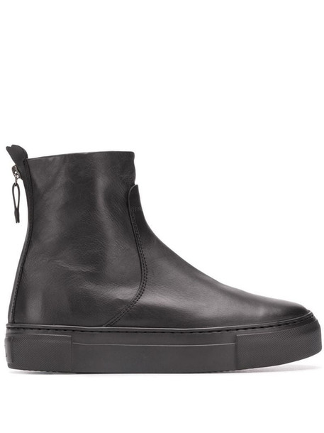AGL flat ankle boots in black