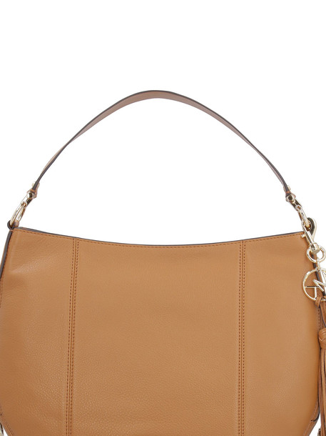 Michael Kors Brooke Leather Hobo-bag in brown