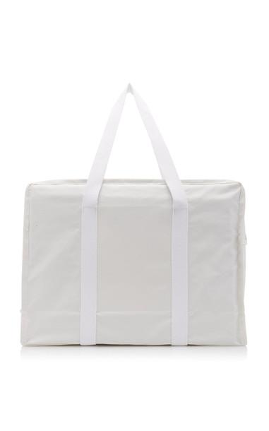 Kassl Medium Cotton-Canvas Tote in white