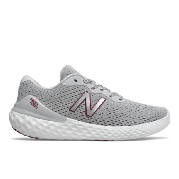 New Balance Fresh Foam 1365 Women's US Site Exclusions Shoes - Grey/Red/Silver (WW1365LP)