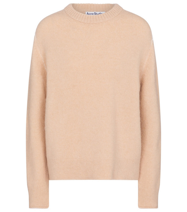 Acne Studios Crewneck sweater in beige