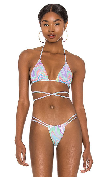 lovewave Athena Top in Pink in multi