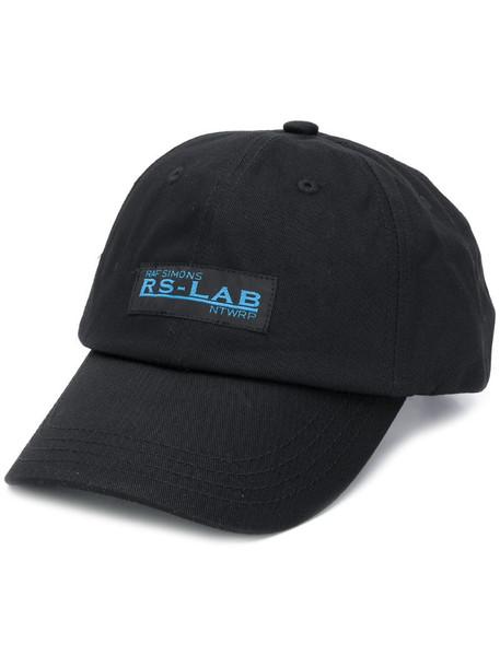 Raf Simons RS-Lab baseball hat in black
