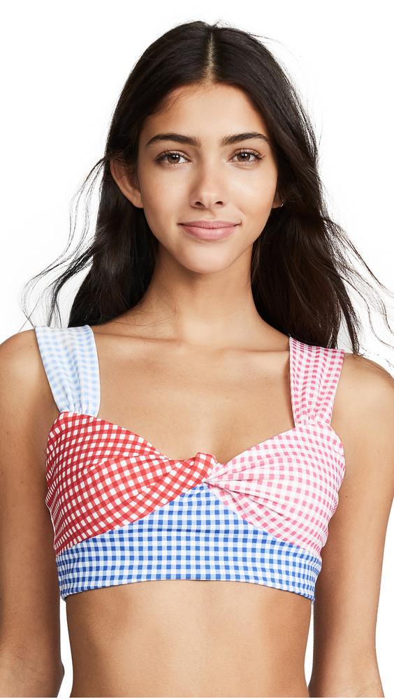 Marysia Sagaponack Bikini Top in multi