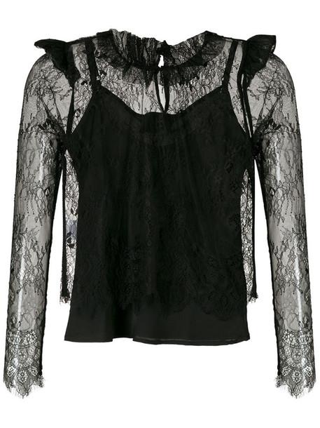 Andrea Bogosian Ryn Couture blouse in black