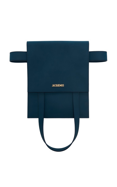 Jacquemus Le Sac Murano Leather Bag in blue