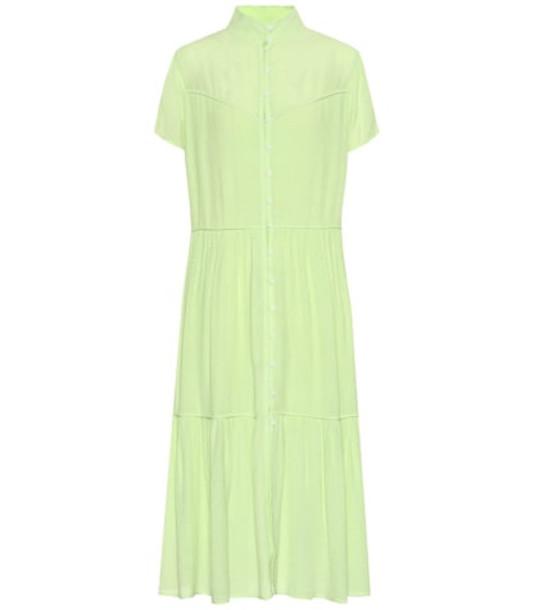 Rag & Bone Libby midi dress in green