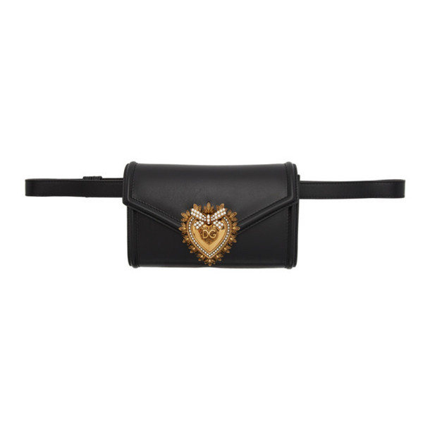 Dolce and Gabbana Dolce & Gabbana Black Devotion Belt Bag