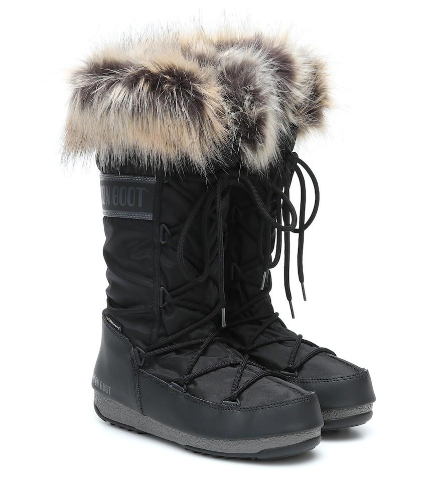 Moon Boot Monaco WP 2 snow boots in black