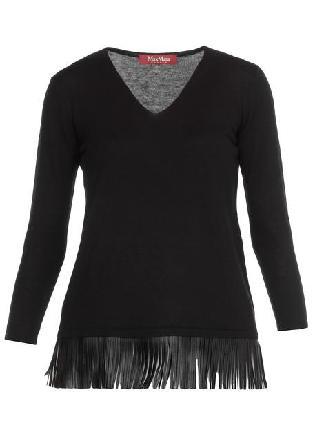 Max Mara Polder Sweater in black