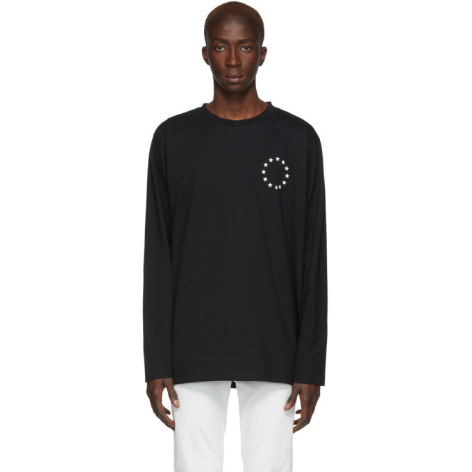Études Études Black Europa Wonder Long Sleeve T-Shirt
