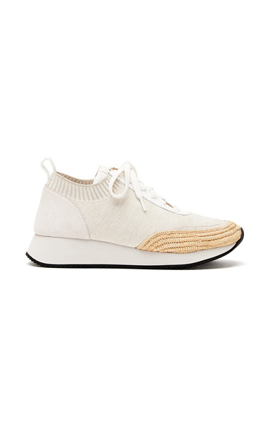 Loeffler Randall Remi Lace Up Sneakers Size: 7