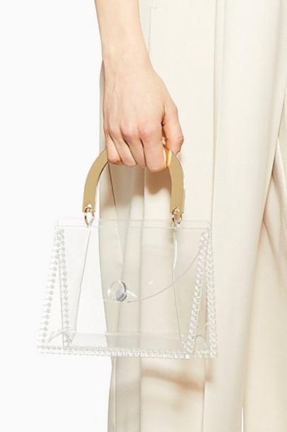 Topshop Glow Acrylic Mini Grab Bag - Clear