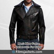 coat,black leather jacket with fur,leather jacket,jacket,fashion,outfit,style,menswear,lifestyle,mens  fashion,men's outfit
