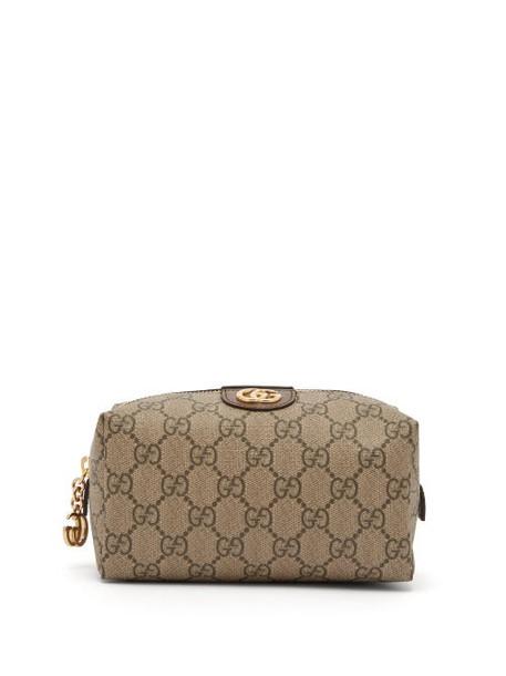 Gucci - Ophidia Gg Supreme Canvas Make Up Bag - Womens - Grey Multi