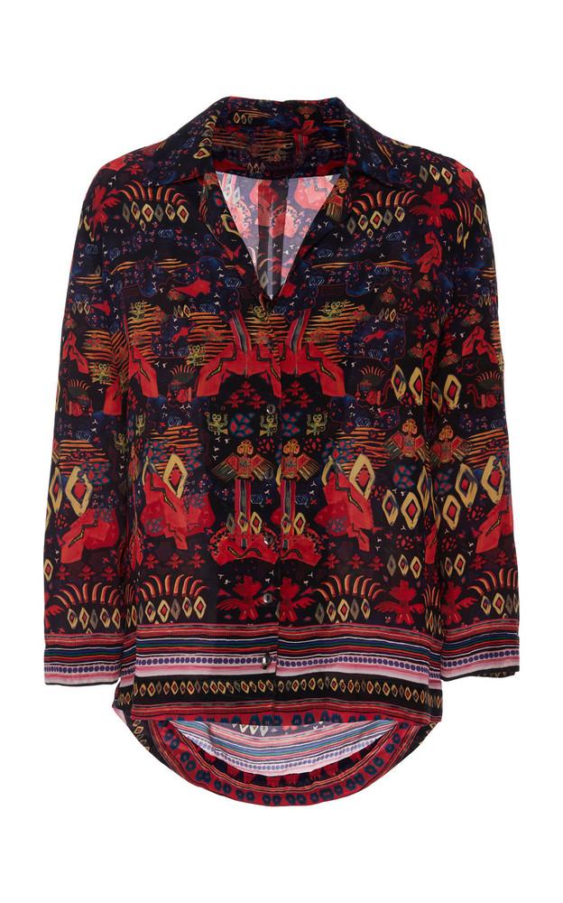 Chufy Nazca Printed Broadcloth Shirt in print