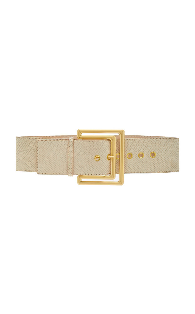 Cult Gaia Arezoo Belt Size: XS/S in white