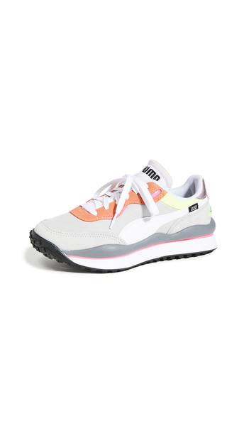 PUMA Rider 020 Game On Sneakers in orange