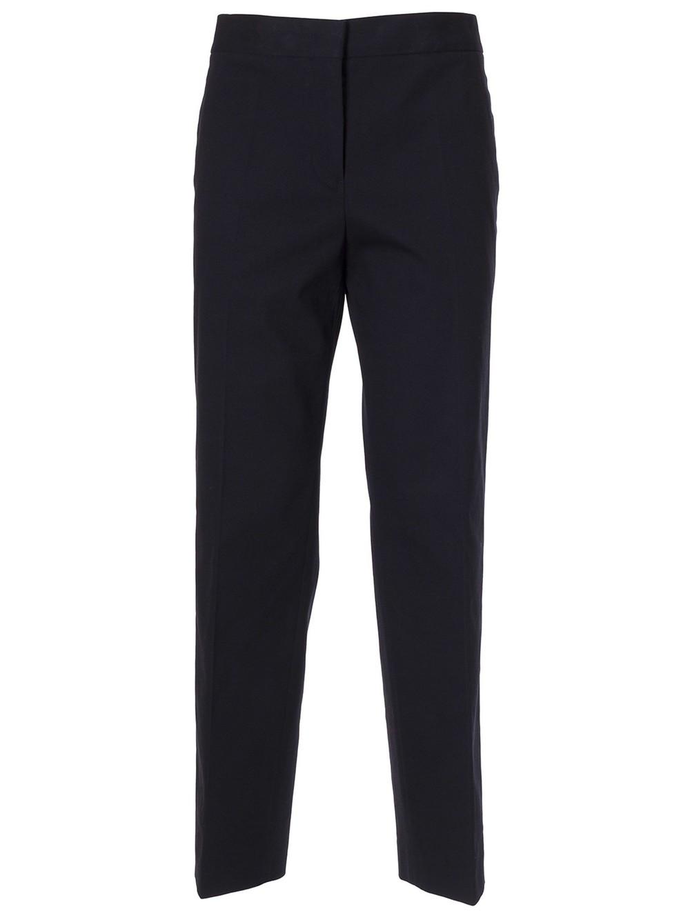 Jil Sander Classic Straight Trousers in blue