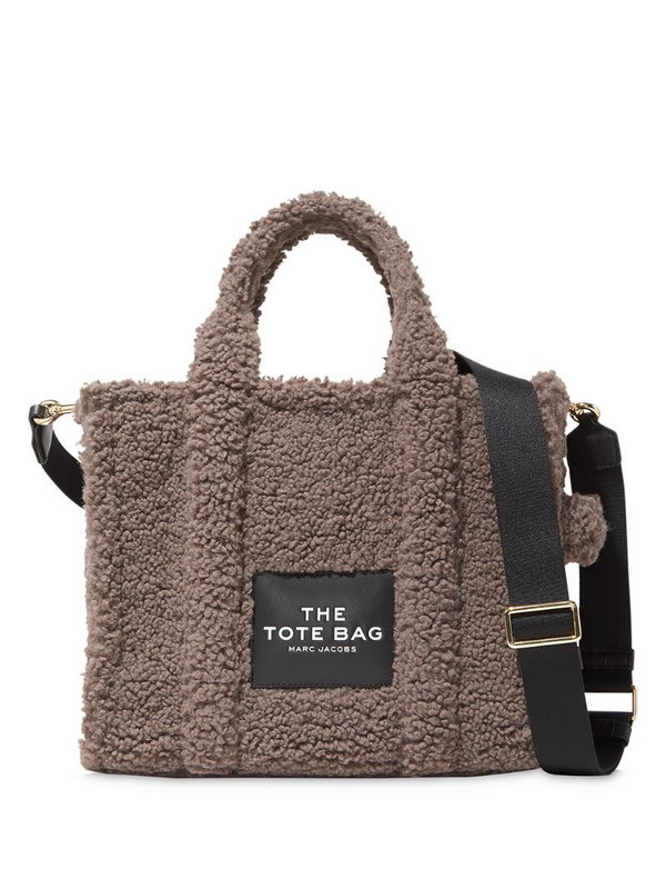 Marc Jacobs The Traveller Teddy tote bag in brown
