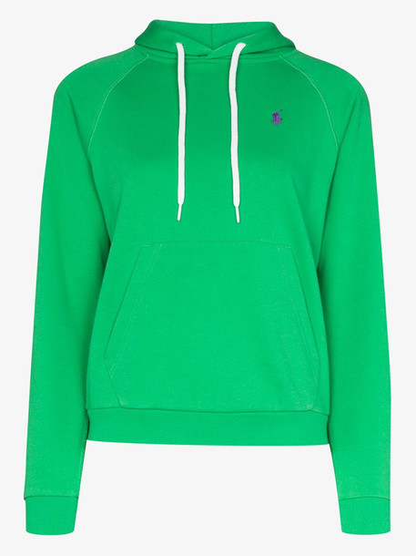 Polo Ralph Lauren Polo Pony cotton hoodie in green