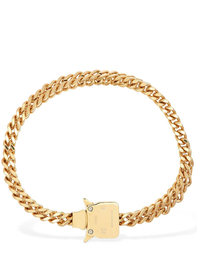 1017 ALYX 9SM Cubix Chain Necklace W/ Fixed Buckle in gold