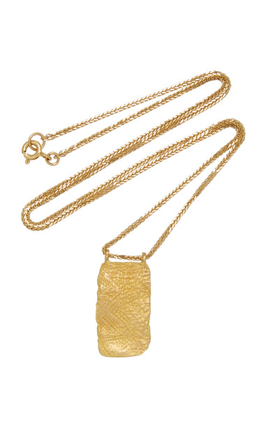 Orit Elhanati Roxy Mezuzah 18K Gold Necklace