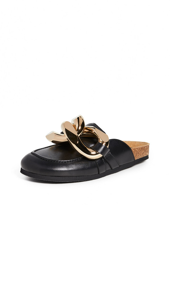 JW Anderson Chain Loafers in black