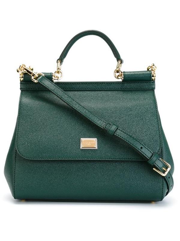 Dolce & Gabbana medium Sicily shoulder bag in green