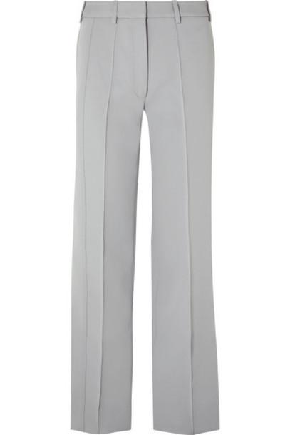 Peter Do - Cady Wide-leg Pants - Gray