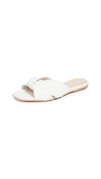Jeffrey Campbell Lynx Slides in white