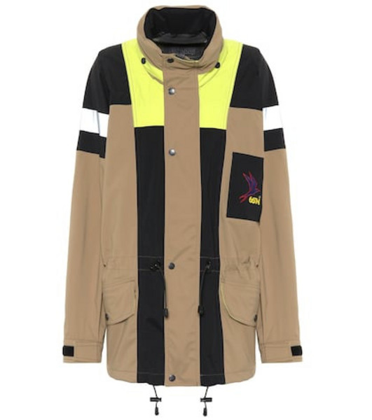 Ganni x 66°NORTH Kria jacket in beige