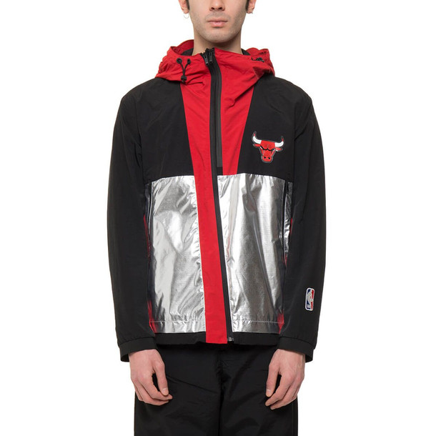 Marcelo Burlon Chicago Bulls Windbreaker in black