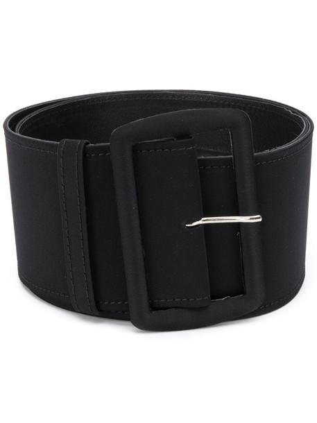 Gianluca Capannolo oversized buckle belt in black