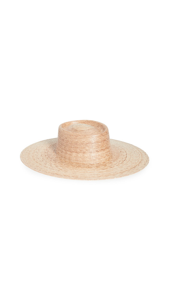Lack Of Color Palma Wide Boater Hat in natural