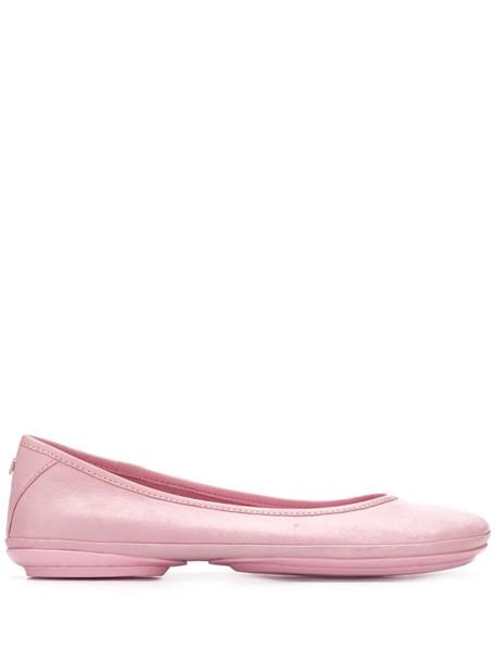 Camper Nina ballerina shoes in pink